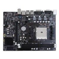 Desktop Motherboard Supports For Gigabyte GA A55 S3P A55 S3P DDR3 Socket FM1 Gigabit Ethernet Mainboard
