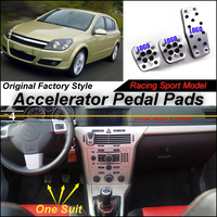 Litanglee Car Accelerator Pedal Pad / Cover of Original Factory Sport Racing Model Design For Opel Astra H J Tuning