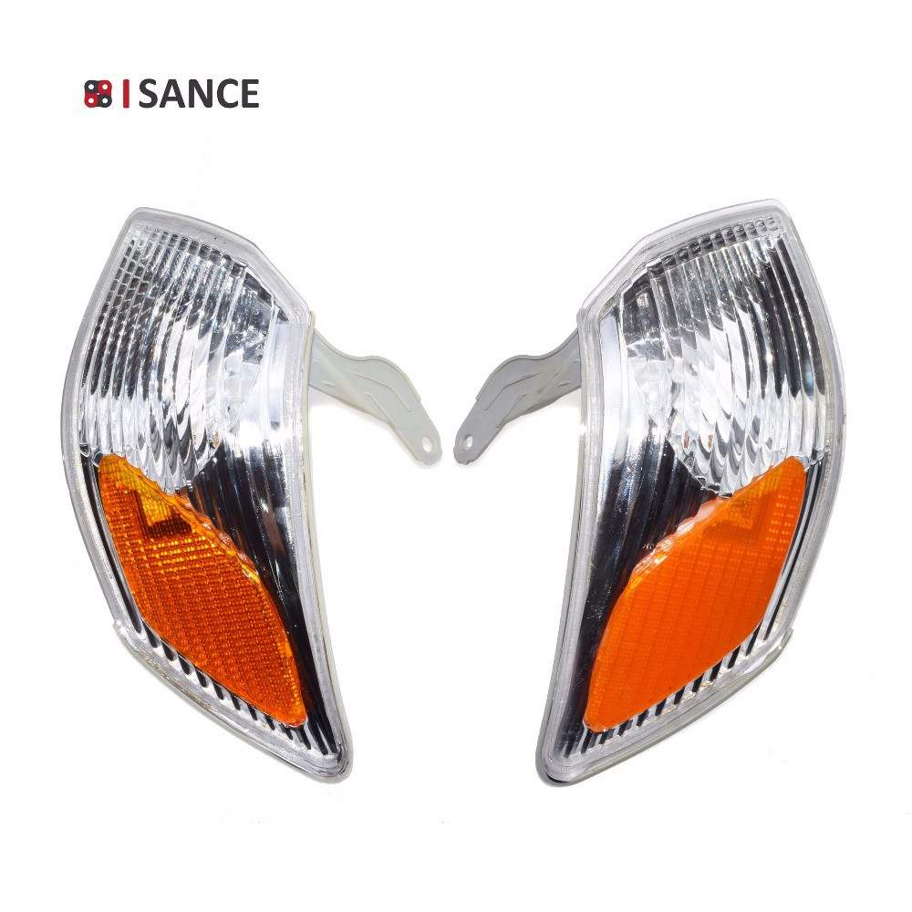 ISANCE Turn Signal Light Left Righjt Pair Side Housing Lamp For Toyota Camry 2000 2001 NO