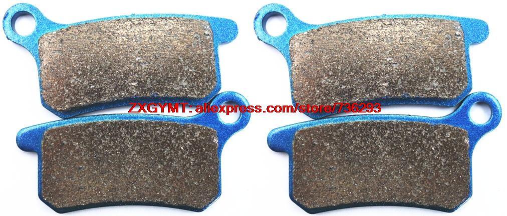 Sintered Motorcycle Disc Brake Pads Set for KTM SX65 SX 65 2009 & up motorcycle disc brake pads fa473 fit for can am spyder rs ses 990cc 08 09 phantom black