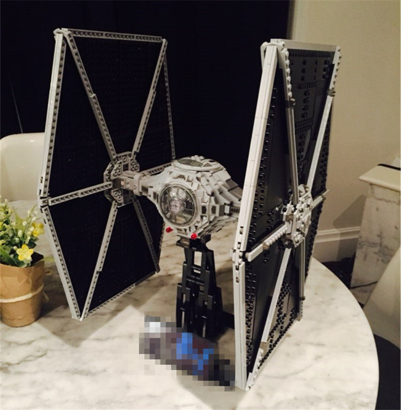 NEW 1685pcs Lepins Star Series Tie Building Fighter Educational Blocks Bricks Toys Compatible with Figures Wars hot sale building blocks assembled star first wars order poe s x toys wing fighter compatible lepins educational toys diy gift
