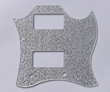 KAISH Silver Sparkle SG Full Face Pickguard Scratch Plate for Gibson SG Special Guitar