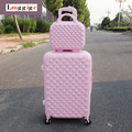 "20""24""28""inch Luggage Set,Women's Wearable  Diamond design Suitcase,Lightweight ABS Travel Box,Spinner Rolling Trolley case"