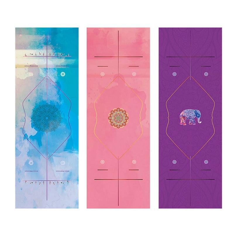 Heißer Verkauf Non Slip Yoga Decken Yoga Handtücher Pilates Decken Fitness Anti Skid Tragbare Yoga Mat Umfasst Größe 183x68 cm