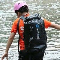 ПВХ водостойкая сухая сумка 30л Открытый Путешествия складной дождевик треккинг Сумка Пляжная Сумка для плавания рафтинг река океан рюкзак