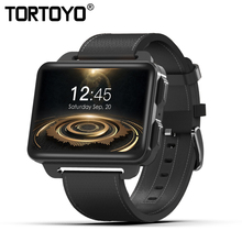 New DM99 Smart Watch MTK6580 Android 5.1 3G GPS Wifi 1GB RAM 16GB ROM Heart Rate Smartwatch 2.2 IPS Big Screen Updated of DM98 цена