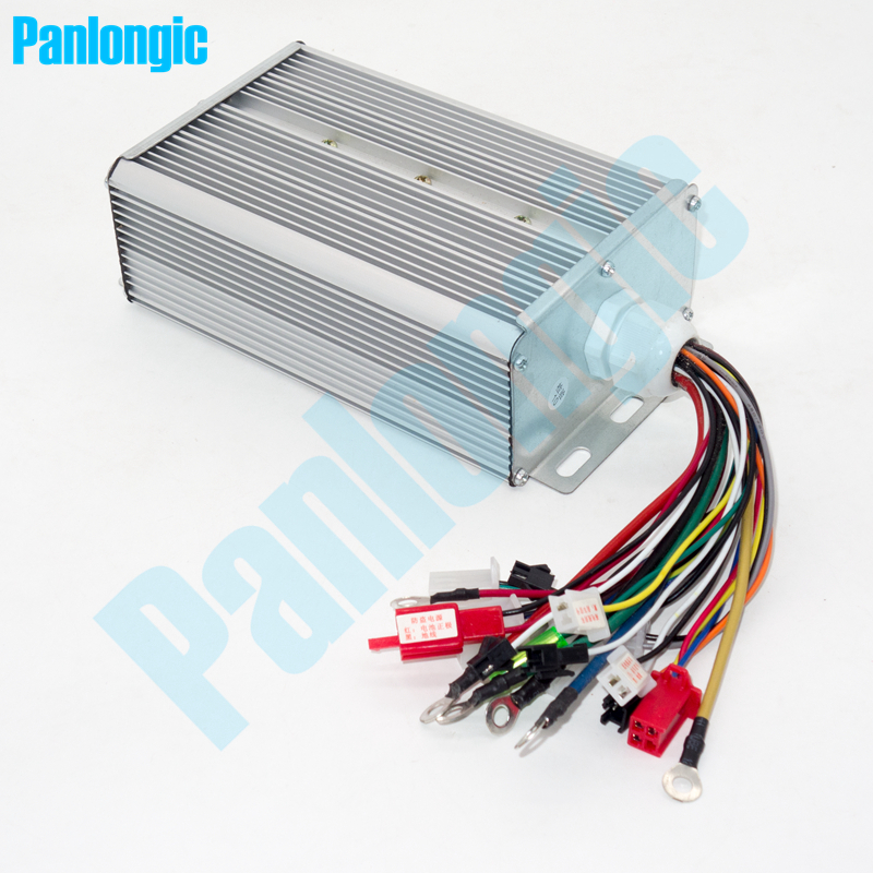 48V/64V 1500W Double 18-MOFSET Electric Bicycle E-bike Scooter Tricycle Brushless DC BLDC Motor Controller Free Shipping free shipping 1000w 72v dc 18 mofset
