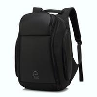 Anti theft Backpack For Men 17 inch Backpack Laptop Water Repellent Functional Rucksack USB Charging Port Travel Backpacks Male