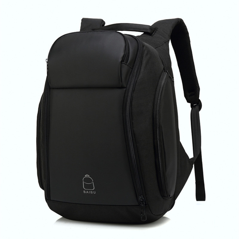 Backpack For Men Anti-theft 17 inch Backpack Laptop Water Repellent Functional Rucksack USB Charging Port Travel Backpacks Male dtbg canvas backpack for 17 3 inch laptop smart travel rucksack with usb charging port anti theft plecak bagpack mochilas sac page 5