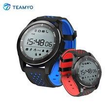 Teamyo умный Группа фитнес трекер часы измерять кровяное давление Носимых устройств Smart Watch человек глубоко watderproof с световой дисплей