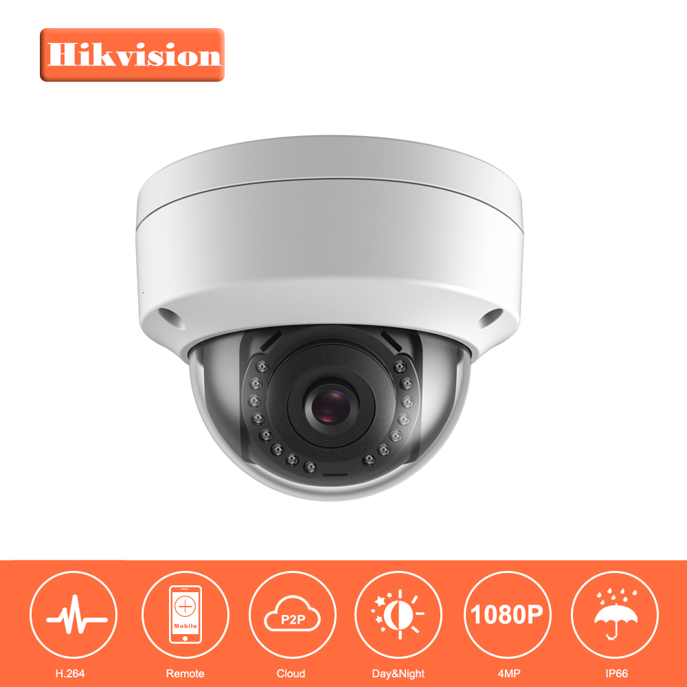 Hikvision CCTV Camera DS-2CD1141-I 4MP CMOS Night Version Dome IP Camera Replace DS-2CD2145F-IS DS-2CD3145F-I DS-2CD3145F-IS hikvision cctv poe 4mp camera ds 2cd3345 i hd night version onvif exir turret wdr dome ip security camera replace ds 2cd2345 i