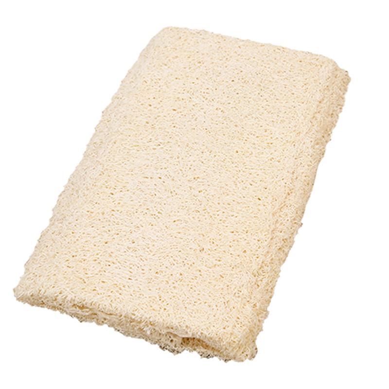 Exfoliating Loofah Towl Bath Sponge Cleaner Wipe Scrubber Body