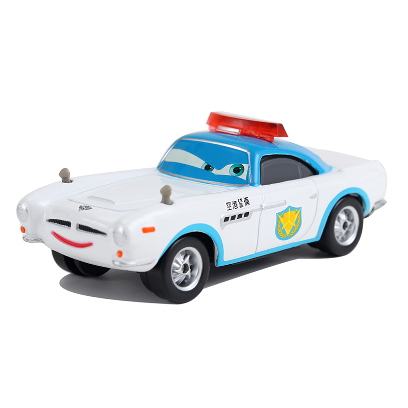 Cars Disney Pixar Cars Security Guard Finn McMissile Metal Diecast Toy Car 1:55 Loose Brand New In Stock Disney Car2 & Car3