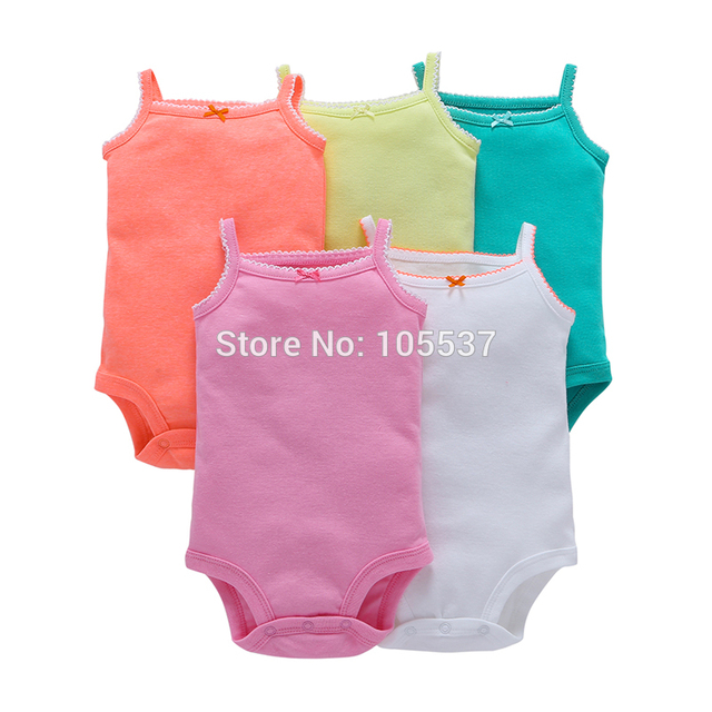 2019 new born baby boy girl clothes unisex newborn Infant clothing set cotton short sleeve o-neck bodysuit summer outfit suit 4