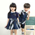 Uniforme escolar para las niñas/boy trajes de danza etapa trajes faldas
