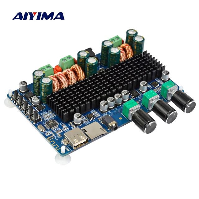 Aiyima Tpa3116 Audio Amplifier Board Amplificador 21 Channel