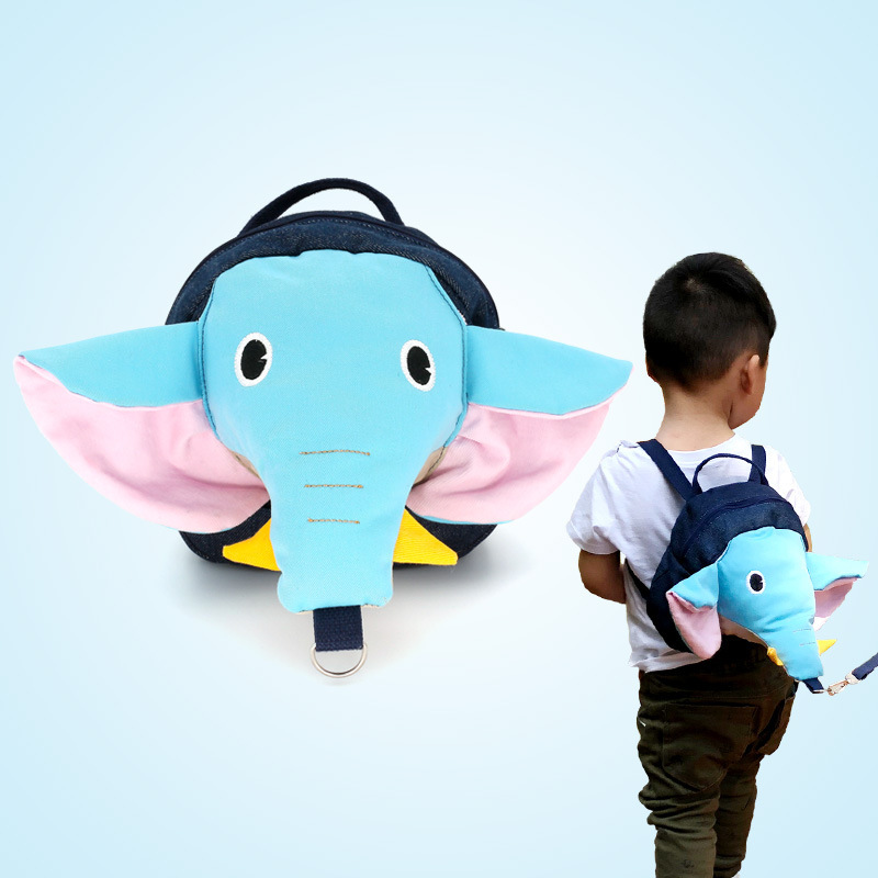 Cute Cartoon Anti-lost Children's Backpack Children Bags Child Leash Kinder Tuigje <font><b>Andador</b></font> Baby Walker Trotteur Mochila <font><b>Infantil</b></font> image