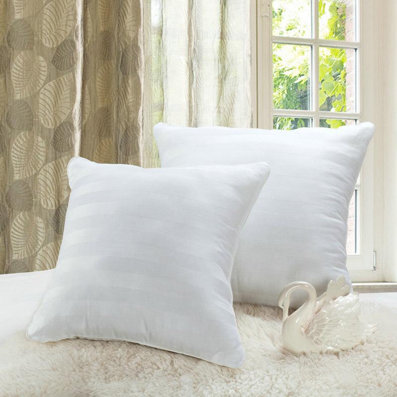 Mode Weisse Farbe Streifen Kissen 60x60 Cm Einfachen Stil Kissenkern Wohnzimmer Sofa Dekorative Kostenloser Versand