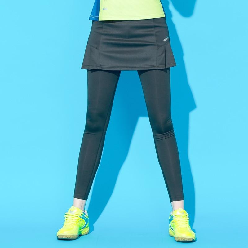 Sport & Unterhaltung Herbst Winter Sport Skort Gefälschte Zwei Stücke Beschnitten Hose Badminton Rock Hosen Damen Quick Dry Dünne Bein Tennis Aerobic Komplette Artikelauswahl