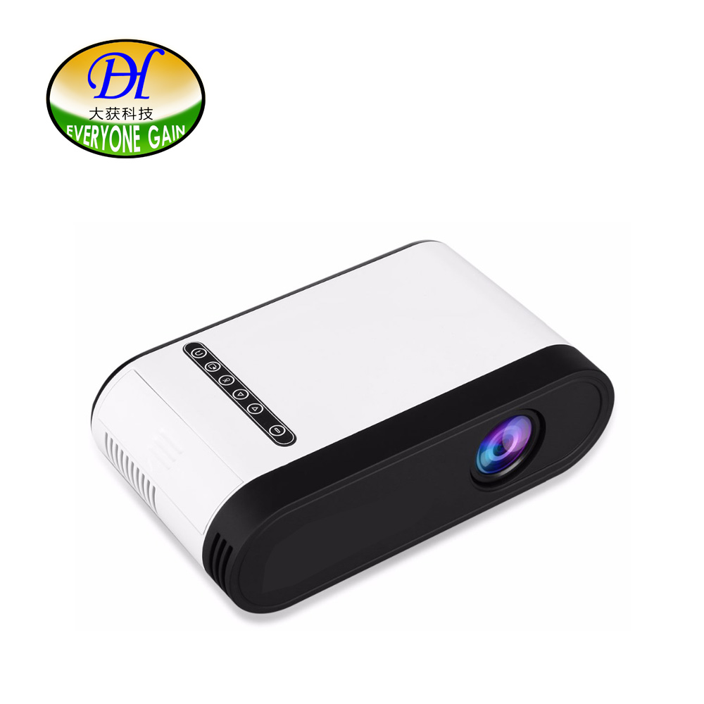 everyone gain m18 mini projector data show cheap digital celular portable video projecteur tv. Black Bedroom Furniture Sets. Home Design Ideas