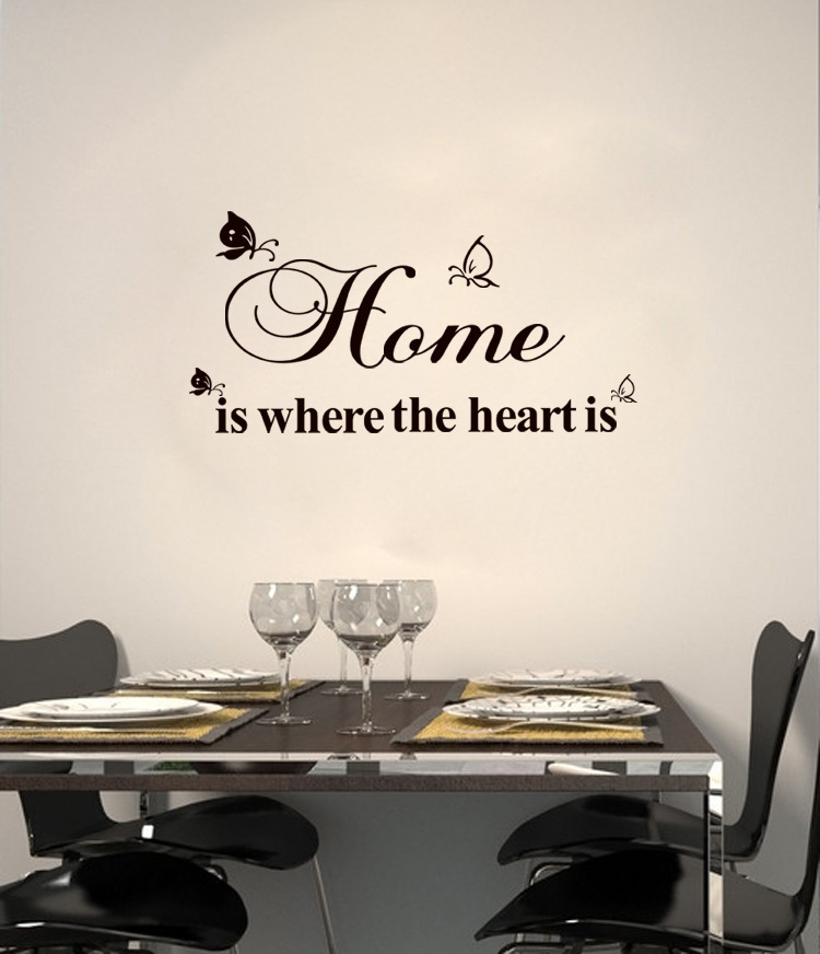 Superb Online Shop ,marilyn Monroe Wall Decals, Home Is Where The Heart  Is,decorative Wall Stickers,home Decoration,wallpaper | Aliexpress Mobile Part 4