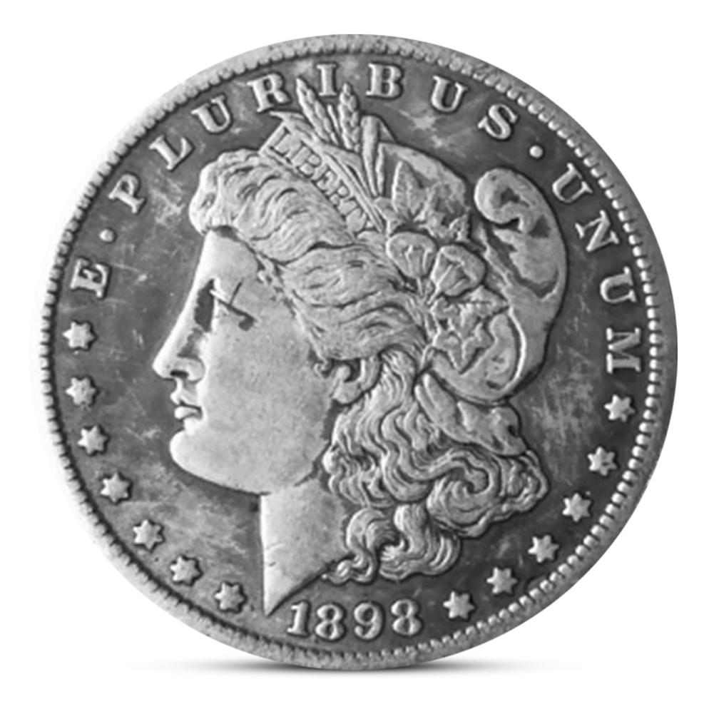 1898 Collecting Old Morgan Dollar United States Eagle Commemorative Coin Gift Hot