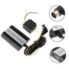 Автомобиля громкой связи Bluetooth Наборы MP3 AUX адаптер Интерфейс для Volvo hu-серии C70 S40/60/80 V40 v70 XC70