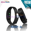 ID 107 ID107 Bluetooth Smart Bracelet smart band Heart Rate Monitor Wristband Fitness Tracker r for Android iOS