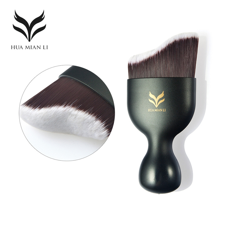 Contour Face Foundation Brush Cream Makeup Tools Accessories Brushes Loose Powder Brush Make Up Brushes beauty essentials