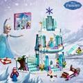 Serie de la muchacha SY373 Castillo de Hielo Espumoso de Elsa Anna Queen Elsa Kristoff Olaf Juguetes de Bloques de Construcción