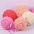 Free Shipping  PE simulation rose ball wedding flower arrangement ball ball ornaments new home wedding flowers bridal bouquets