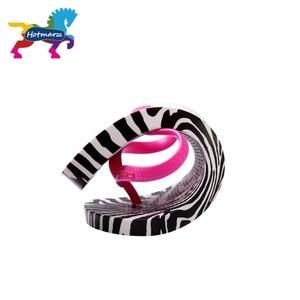 Image 4 - Hotmarzz Frauen Zebra Druck Flip Flops Strand Hausschuhe Sommer Sandalen Slides Slip Auf Flache Sandalen