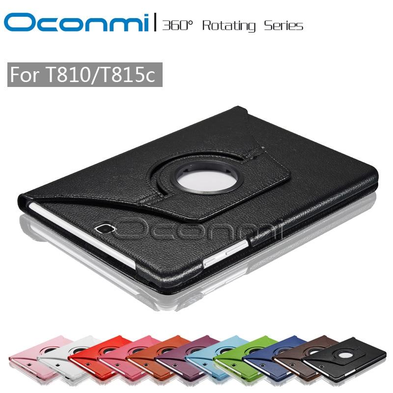 360 Girante Dell'unità di elaborazione per Samsung Galaxy Tab S2 9.7 Tablet copertura protettiva cassa del manicotto per SM-T810 SM-T815