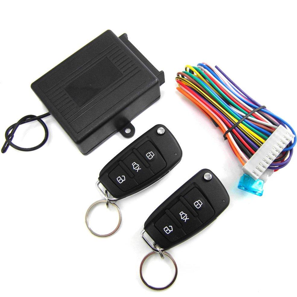 M602-8118 Keyless Entry Central Locking Push Button Ignition Door Lock Universal Car Alarm SmartPhone Control Car Alarm System