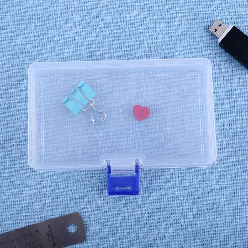 שקוף ארגז כלים פלסטיק אחסון ארגן בית תכשיטי אחסון מארגן אלקטרוני Tablet רפואה