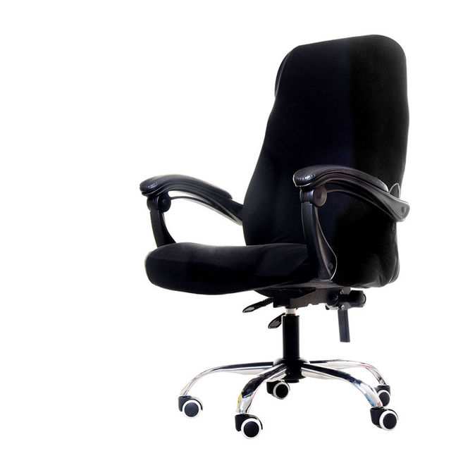 Эластичный стул крышка офисное сиденье Чехол для компьютерного стула съемное покрывало на кресло вращающийся подъемный стул Чехол Чехлы Slipcover