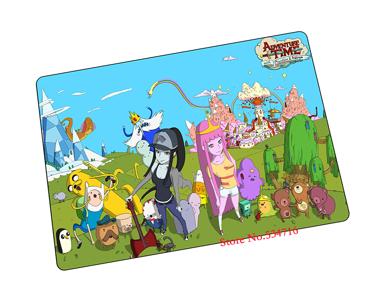Adventure Time mouse pad Christmas gaming mousepad laptop pad to mouse notbook computer computer mouse pad gamer play mats