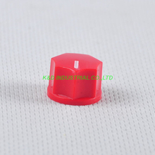 все цены на 10pcs Colorful Red Rotary Control Plastic Potentiometer Knob Guitar Knurled Shaft Hole онлайн