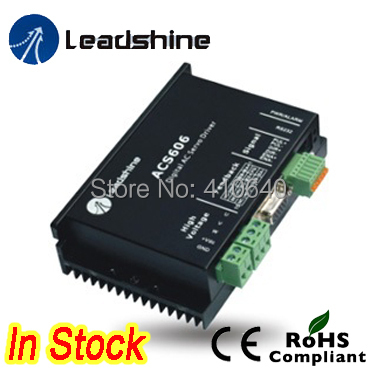Genuine! Leadshine ACS606 DC Input Brushless Servo Drive with 18 to  60 VDC Input Voltage and 6A Continuous  18A   Current leadshine dc servo driver acs606 brushless servo drive max 60 vdc 18a peak