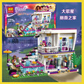 2016 Nuevo 619 Unids Bela Amigos Serie Estrella del Pop Livi Andrea House Building Blocks mini-muñeca de Juguete figuras Compatible con Legoes