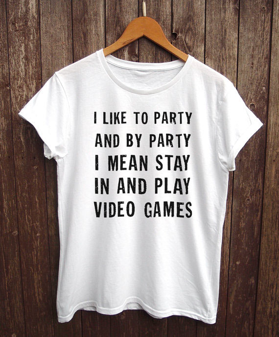 Gamer Girl Shirt gamer girl gift, hardcore gamer clothing, funny gamer top More Size and Colors-B104