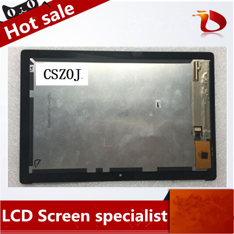 Original A+10.1 FOR Asus ZenPad 10 Z300M Full LCD Display Panel Touch Screen Digitizer Assembly yellow connector new 10 1 inch parts for asus tf701 tf701t lcd display touch screen digitizer panel full assembly free shipping