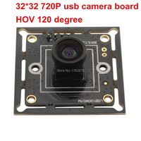 Surveillance USB Camera Board Mini 32 32mm Size 1 0 Megapixel HD 120 Degree M7 Lens