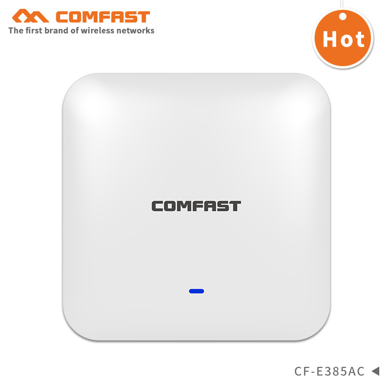 Comfast 2200M high power wireless ceiling AP wifi router WAVE 2 48V POE RJ45 Gigabit port Open ddwrt Wi fi Access point repeater gigabit wireless ceiling ap 2 4g