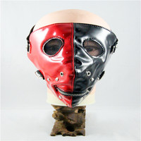 10pcs/Pack New popular black and red personality sharp nails mask punk rock trend mask masked nails fashion dust masks