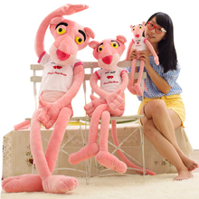 1pcs 1# 50cm kawaii NICI PINK PANTHER doll plush toys best gifts for girls factory wholesale free shipping