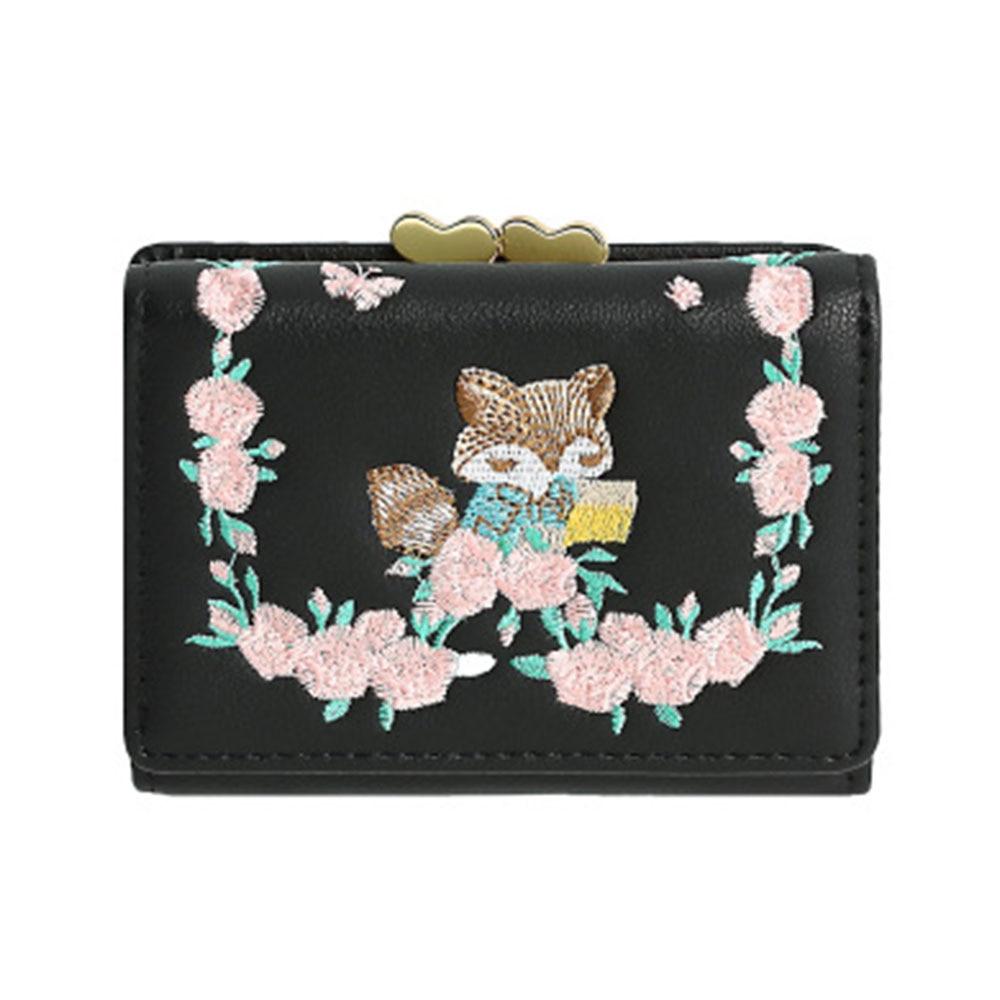 f61384eeb Compre Moda Hermosa Fox Diseño De Cuero De LA PU De Las Mujeres ...