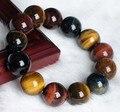 Бесплатная доставка новинка 100% Natural тигрового глаза камень браслет, Уникальный шарм из бисера браслеты и браслеты для женщин мужчины ювелирных изделий