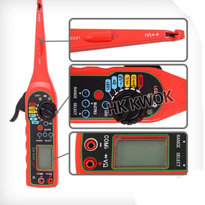 KWOKKER NEW Multi-function Auto Circuit Tester Multimeter Lamp Car Repair Automotive Electrical Multimeter Diagnostic Tool Karachi
