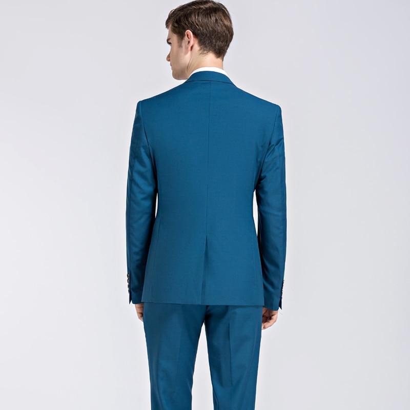 2019 ใหม่ seasons สไตล์บูติกชุดลำลองเจ้าบ่าวงานแต่งงานชุดสามชุด (เสื้อ + กางเกง + เสื้อกั๊ก) s 3XL-ใน สูท จาก เสื้อผ้าผู้ชาย บน   2